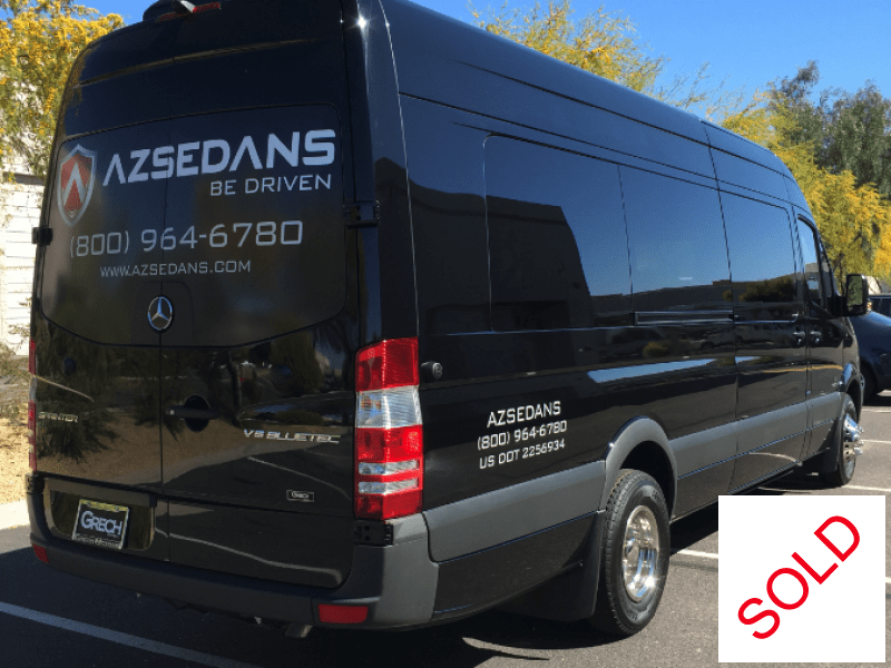 used 2015 mercedes benz sprinter van limo grech motors