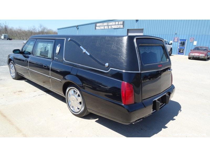 Used 2003 Cadillac De Ville Funeral Hearse S&S Coach