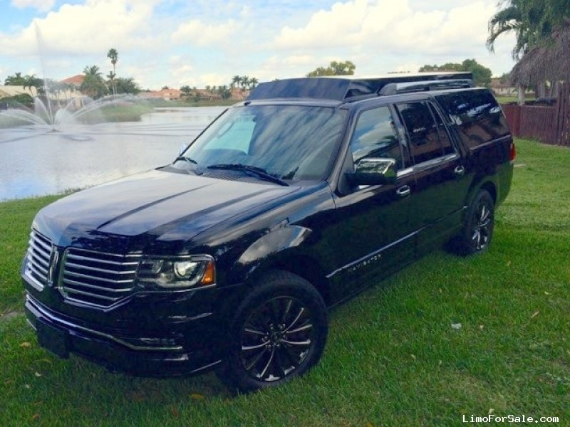 Used 2015 Lincoln Navigator L SUV Limo Limo Land by Imperial - FT LAUDERDALE, Florida - $85,000