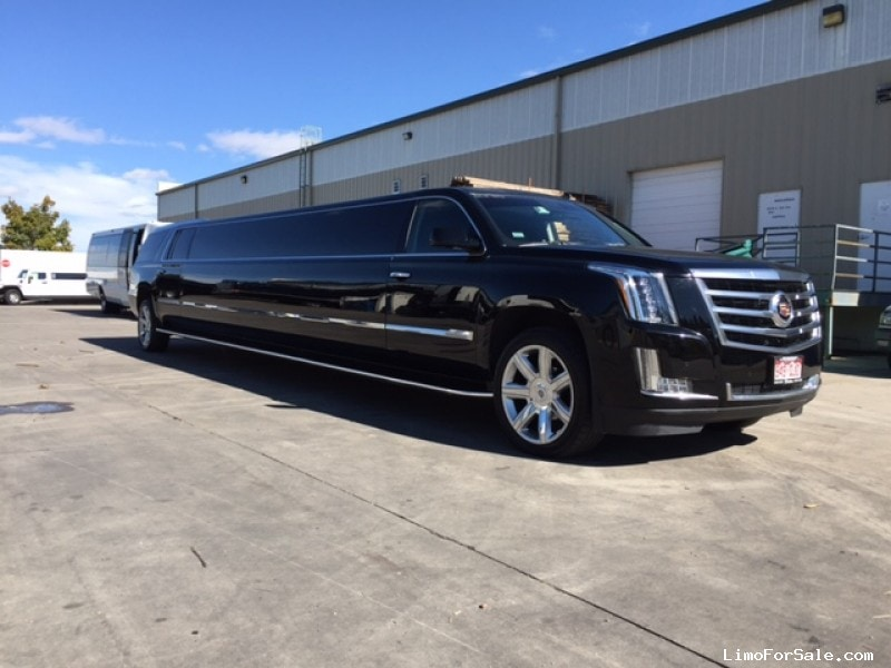 Used 2015 Cadillac Escalade ESV SUV Stretch Limo Pinnacle Limousine Manufacturing - Aurora, Colorado - $98,500