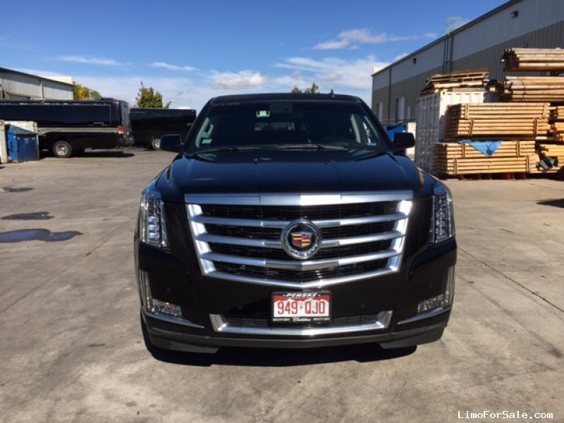 used 2015 cadillac escalade esv suv stretch limo pinnacle limousine manufacturing aurora. Black Bedroom Furniture Sets. Home Design Ideas
