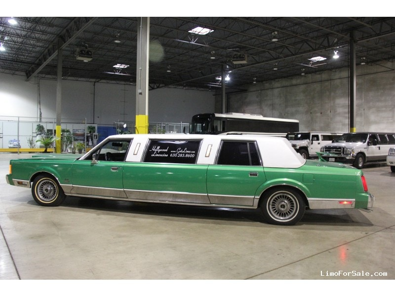 1989 Lincoln Town Car >> Used 1989 Lincoln Town Car L Sedan Stretch Limo Dabryan Addison Illinois 4 900
