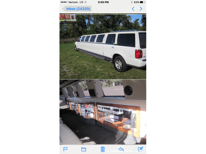 Used 2002 Lincoln Navigator SUV Limo Westwind - Grand Rapids, Michigan - $9,600