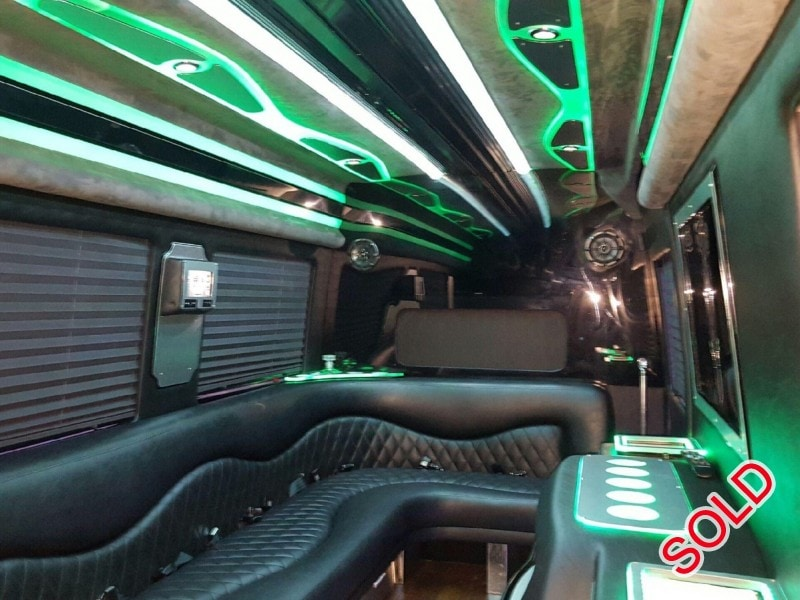 Used 2013 Mercedes-Benz Sprinter Van Limo Specialty Conversions - The Woodlands, Texas - $47,500