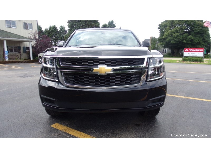 Used Chevrolet Tahoe Suv Stretch Limo Elite Coach North
