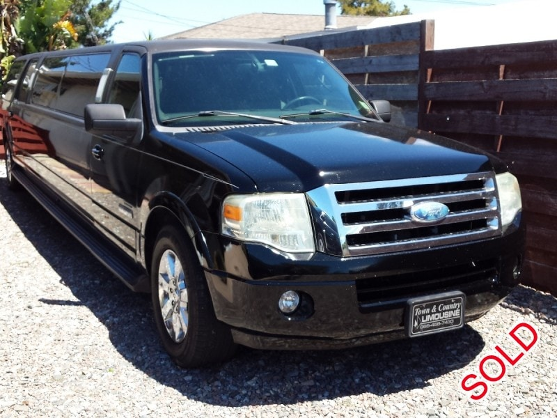 used 2008 ford expedition el suv stretch limo krystal 22 500 limo for sale. Black Bedroom Furniture Sets. Home Design Ideas