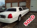 2006, Lincoln Town Car, Sedan Stretch Limo, Springfield