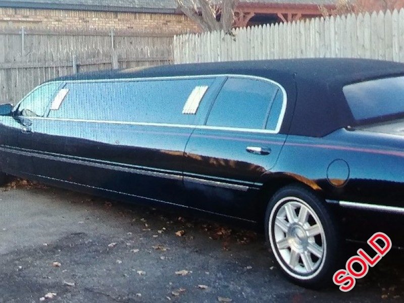 Used 2007 Lincoln Town Car L Sedan Stretch Limo Krystal - amarillo, Texas - $12,500
