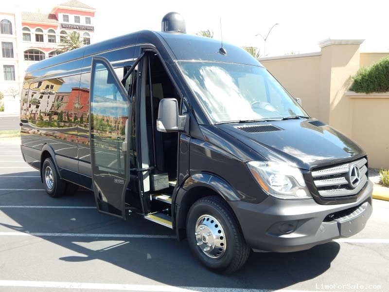 New 2016 mercedes benz sprinter mini bus shuttle tour for Mercedes benz touring coach