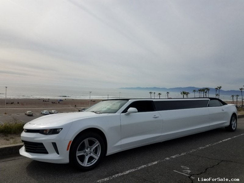 Limo For Sale >> New 2017 Chevrolet Camaro Sedan Stretch Limo American Limousine Sales Los Angeles California 89 995