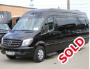 2014, Mercedes-Benz Sprinter, Van Shuttle / Tour, Tiffany Coachworks