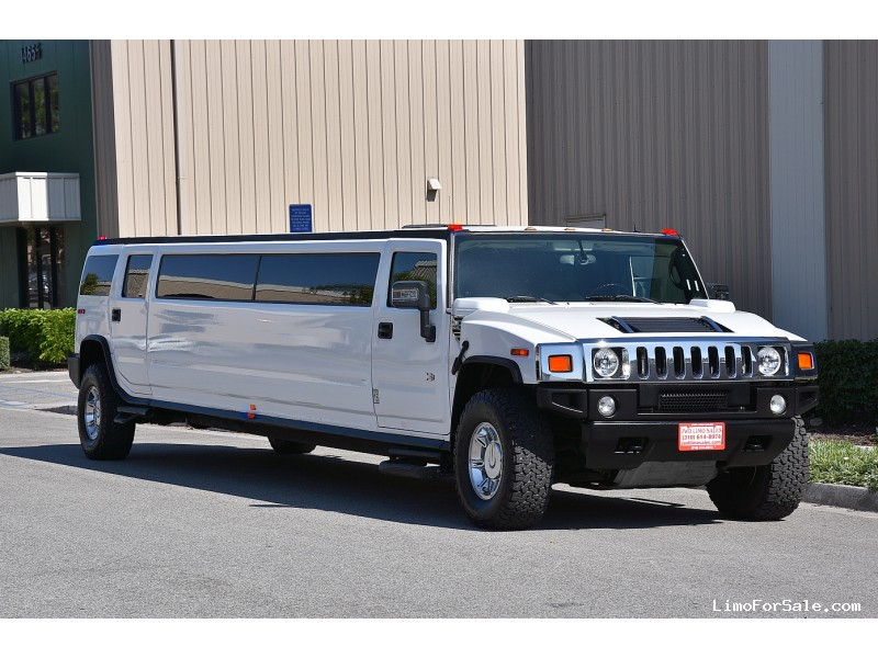 Used 2006 Hummer H2 SUV Stretch Limo  - Fontana, California - $33,900