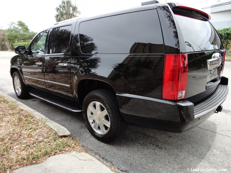 used 2013 cadillac escalade esv suv limo hq custom design delray beach florida 72 900. Black Bedroom Furniture Sets. Home Design Ideas
