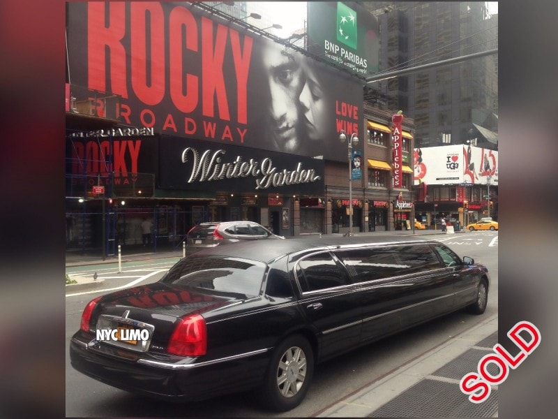 Used 2007 Lincoln Town Car Sedan Stretch Limo Executive Coach Builders - brooklyn, New York    - $6,500