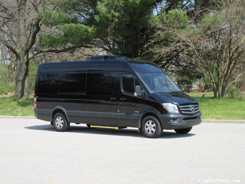 Used 2016 Mercedes Benz Sprinter Van Shuttle Tour