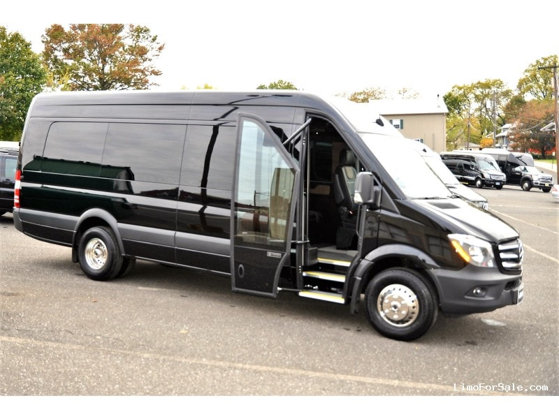 New 2017 Mercedes-Benz Sprinter Van Shuttle / Tour McSweeney Designs - Oaklyn, New Jersey    - $85,550