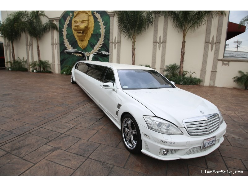 Used 2008 Mercedes-Benz S Class Sedan Stretch Limo Limos by Moonlight - North Hollywood, California - $58,000