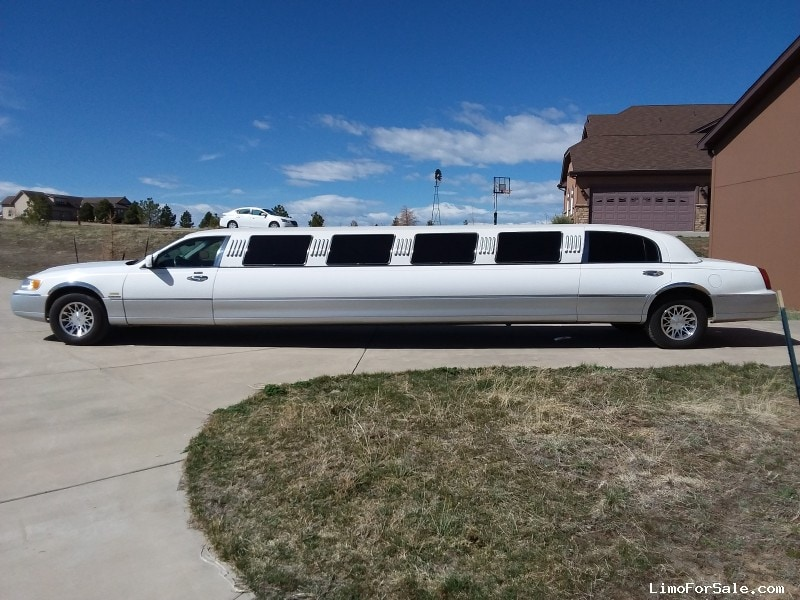 Used 2000 Lincoln Town Car Sedan Stretch Limo S&R Coach, Colorado - $10,900