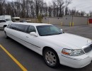 2007, Lincoln Continental, Sedan Stretch Limo, Executive Coach Builders
