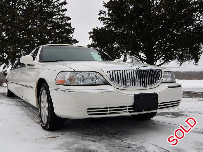 Used 2004 Lincoln Town Car L Sedan Stretch Limo Great Lakes Coach