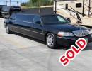 2008, Lincoln Town Car, Sedan Stretch Limo, Lime Lite Coach Works