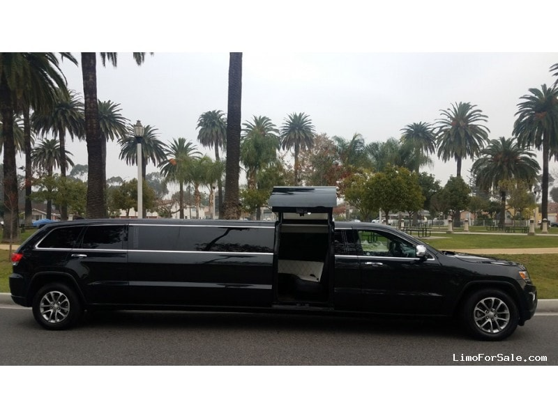 Used 2015 Jeep Grand Cherokee SUV Stretch Limo American Limousine Sales - Everett, Washington - $46,000