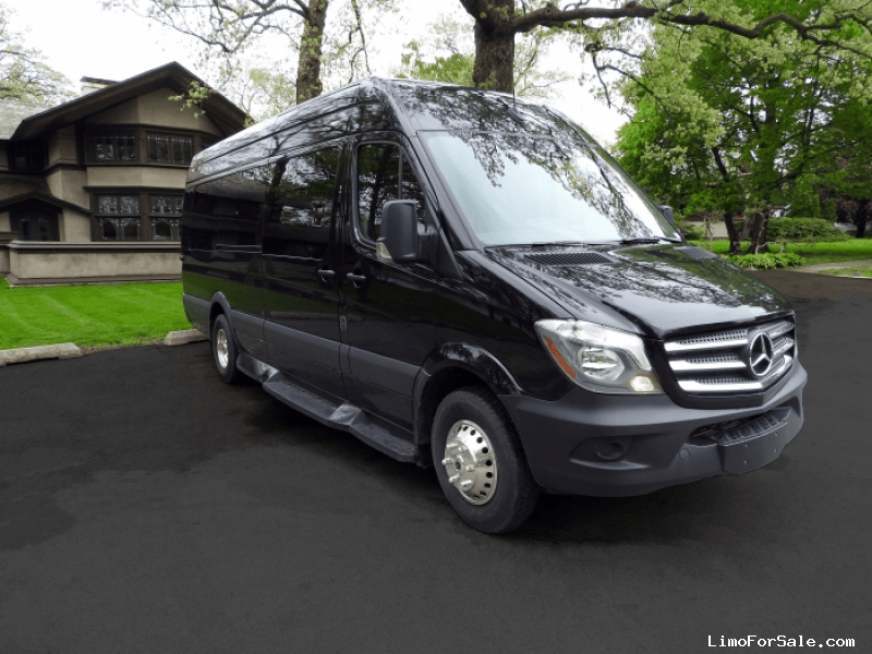 New 2018 Mercedes-Benz Van Limo Battisti Customs - Kankakee, Illinois - $94,990