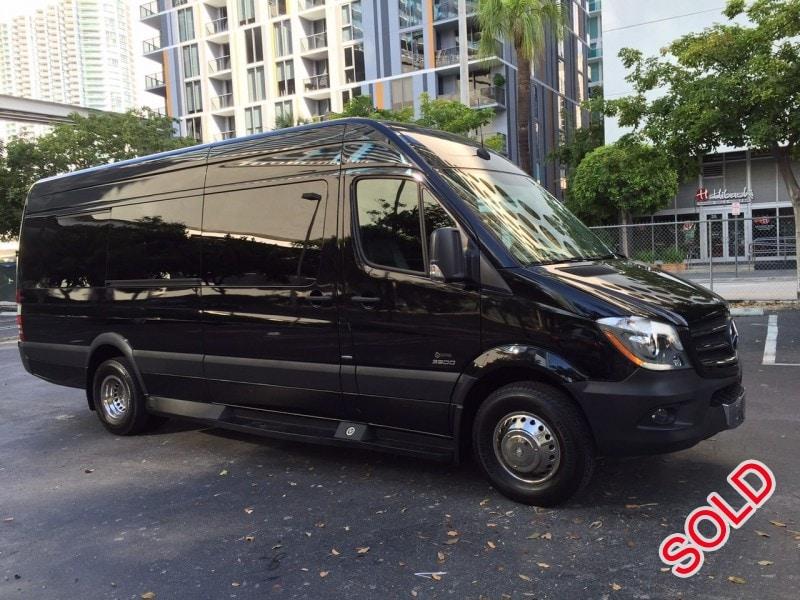Used 2014 Mercedes-Benz Sprinter Van Shuttle / Tour Executive Coach Builders - Miami, Florida - $45,000