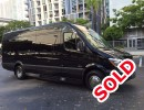 2014, Mercedes-Benz Sprinter, Van Shuttle / Tour, Executive Coach Builders