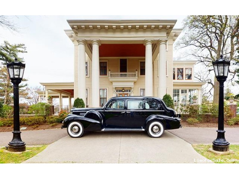 Used 1938 Cadillac Fleetwood Sedan Limo  - Oaklyn, New Jersey    - $58,550