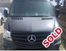 2012, Mercedes-Benz Sprinter, Van Shuttle / Tour, Specialty Conversions