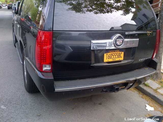 used 2008 cadillac escalade esv suv limo 15 000 limo for sale. Black Bedroom Furniture Sets. Home Design Ideas