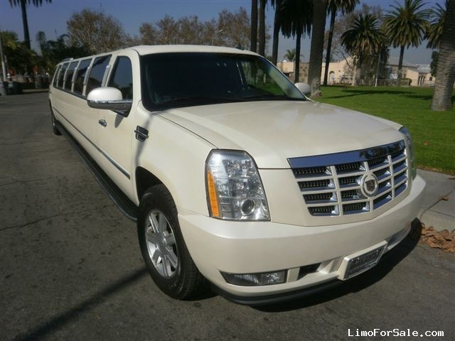used 2009 cadillac escalade suv stretch limo los angeles california 63 995 limo for sale. Black Bedroom Furniture Sets. Home Design Ideas
