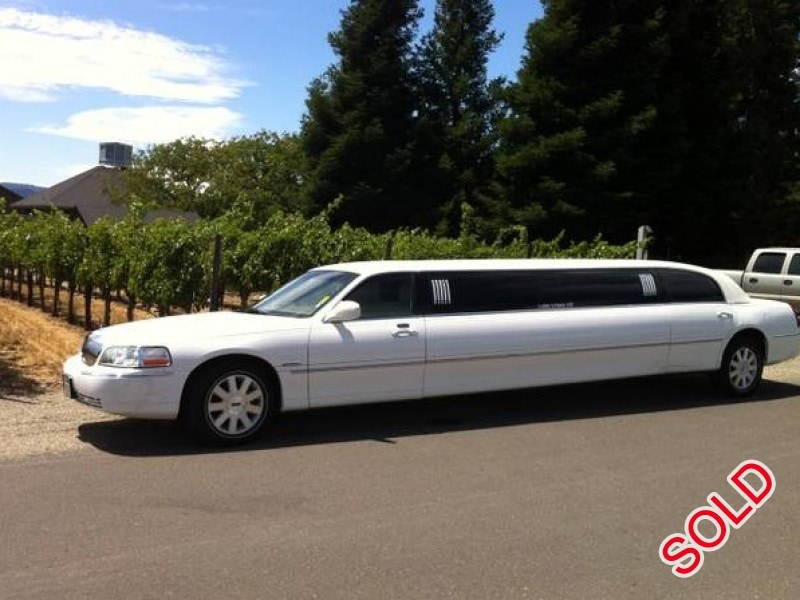 Used 2004 Lincoln Town Car Sedan Stretch Limo Krystal Fairfield California 6 500