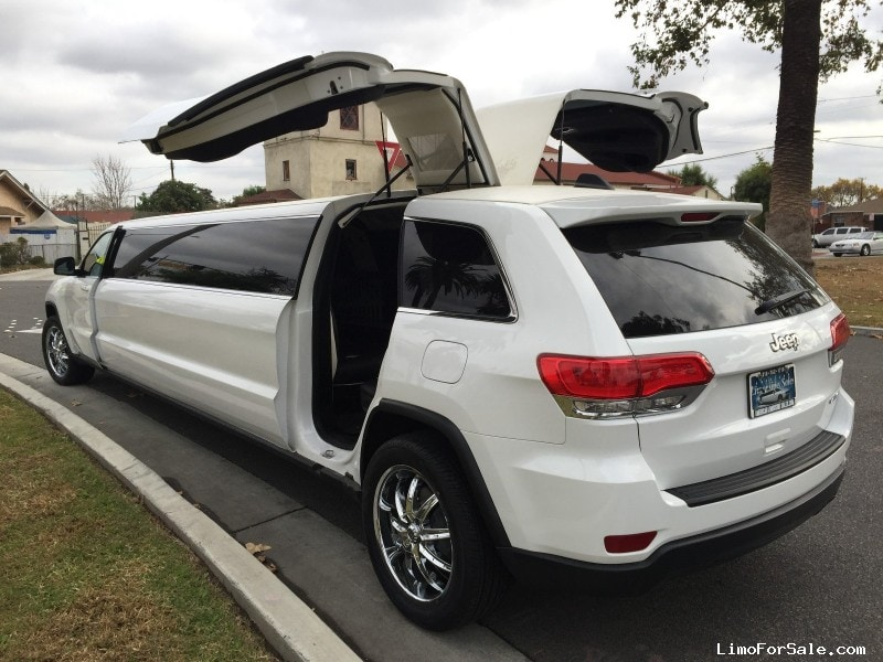 new 2015 jeep grand cherokee suv stretch limo american limousine sales los angeles california. Black Bedroom Furniture Sets. Home Design Ideas