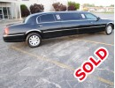 2003, Lincoln Town Car, Sedan Stretch Limo, Executive Coach Builders
