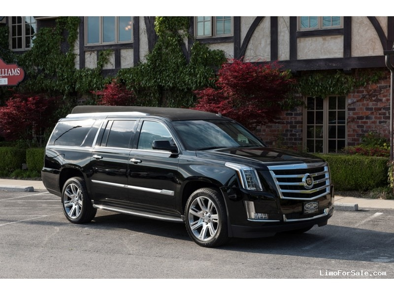 New Cadillac Escalade Esv Suv Limo First Class Customs