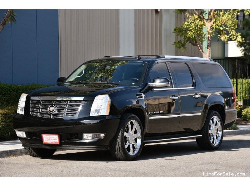 used 2009 cadillac escalade esv suv limo fontana california 23 900 limo for sale. Black Bedroom Furniture Sets. Home Design Ideas