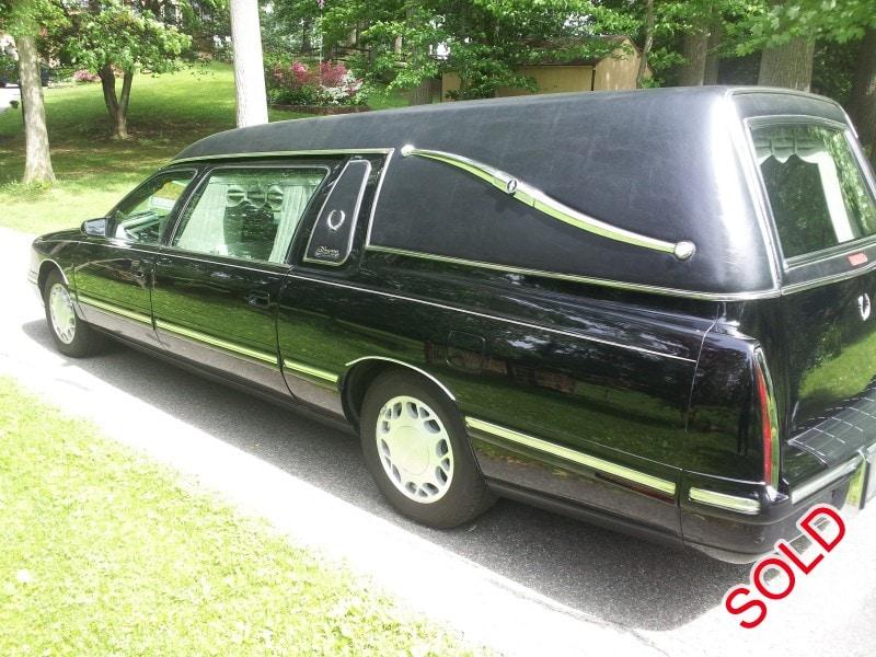 Used 1998 Cadillac De Ville Funeral Hearse Superior
