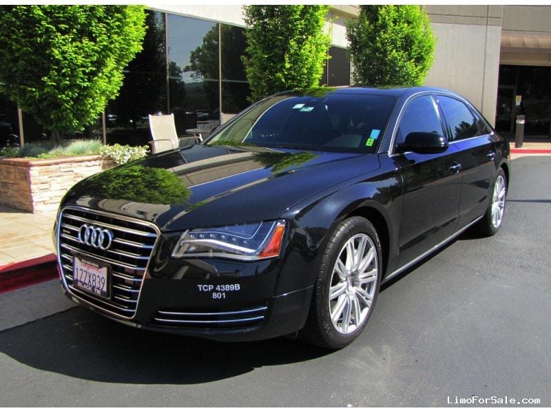 used 2011 audi a8 sedan limo pleasanton california 43 500 limo for sale. Black Bedroom Furniture Sets. Home Design Ideas