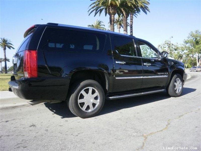 used 2008 cadillac escalade van shuttle tour los angeles california 19 995 limo for sale. Black Bedroom Furniture Sets. Home Design Ideas