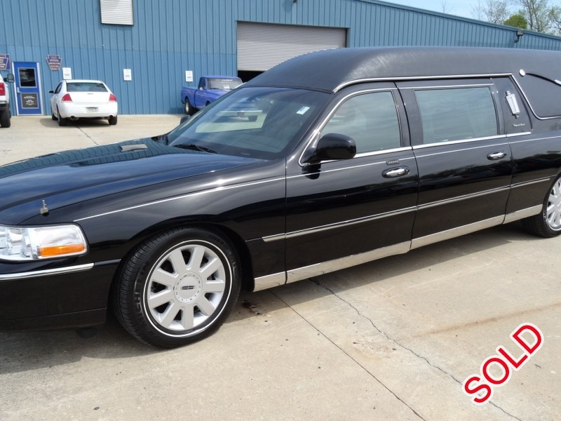 Used 2005 Lincoln Town Car Funeral Hearse S S Coach Company