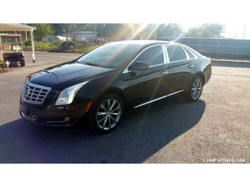 used 2014 cadillac xts sedan limo st petersburg florida 16 000 limo for sale. Black Bedroom Furniture Sets. Home Design Ideas