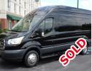 New 2016 Ford Transit Van Shuttle / Tour Battisti Customs - Kankakee, Illinois - $66,750