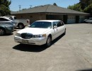 2001, Lincoln Town Car, Sedan Stretch Limo