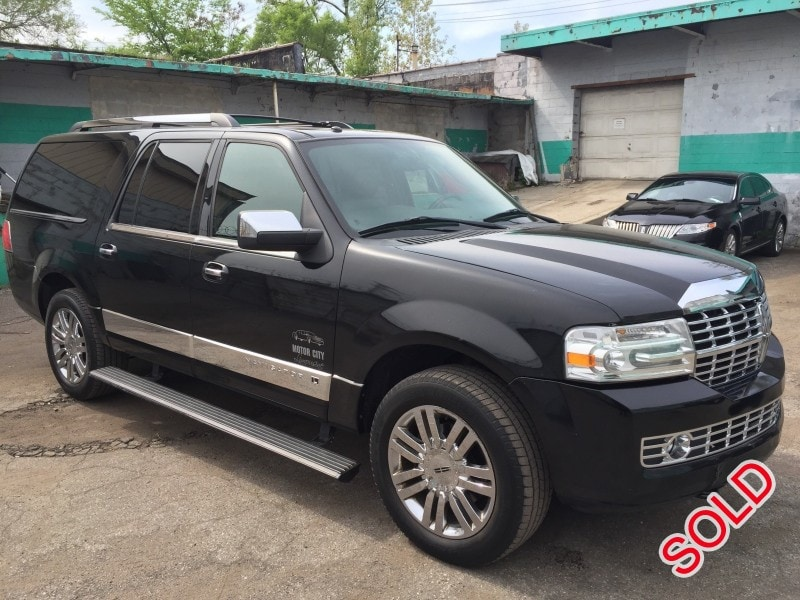 used 2008 lincoln navigator l suv limo waterford. Black Bedroom Furniture Sets. Home Design Ideas