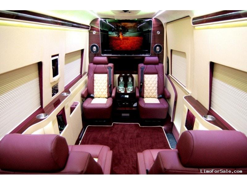 Used 2013 mercedes benz sprinter van limo hq custom design for Mercedes benz sprinter dealers california