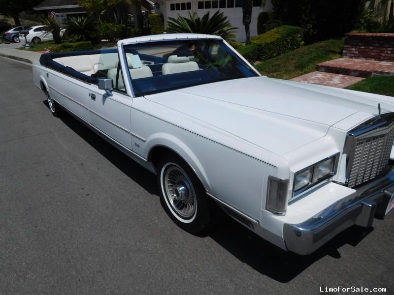 Used 1987 Lincoln Town Car Sedan Stretch Limo Anaheim
