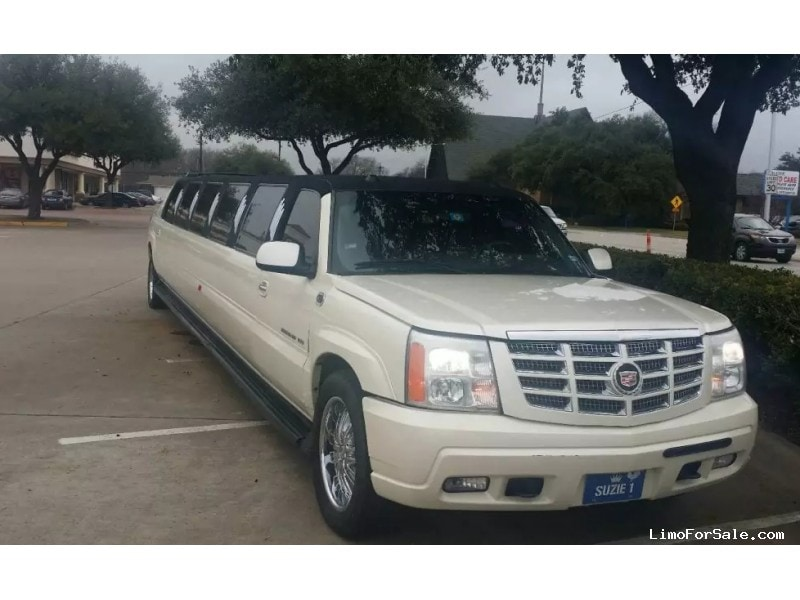 used 2004 cadillac escalade suv stretch limo krystal dallas texas 16 995 limo for sale. Black Bedroom Furniture Sets. Home Design Ideas