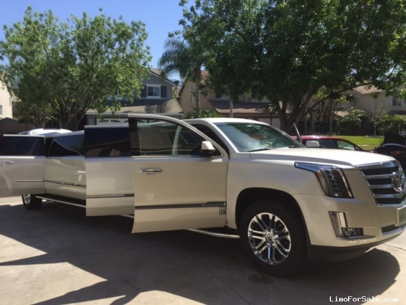 Used Cadillac Escalade Suv Stretch Limo Classic Custom Coach